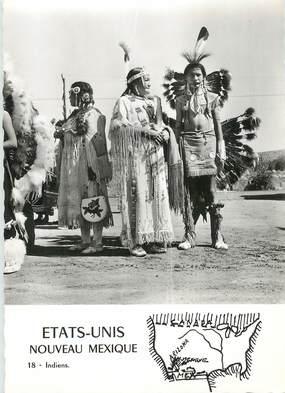 """CPSM USA """"Indiens du nouveau Mexique"""""""