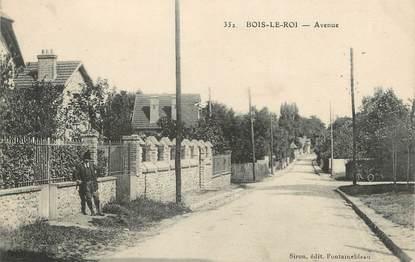 "/ CPA FRANCE 77 ""Bois le Roi, avenue """