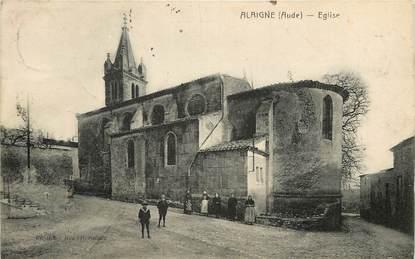 """CPA FRANCE 11 """"Alaigne, Eglise"""""""