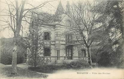 """/ CPA FRANCE 77 """"Touquin, villa des Roches"""""""