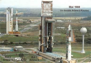"CPSM GUYANE ""Kourou, Ariane 2, mai 1988"""
