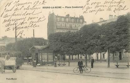 """/ CPA FRANCE 92 """"Bourg La Reine, place Condorcet"""""""