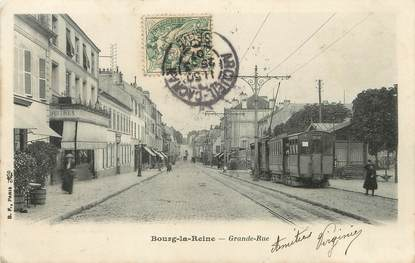 "/ CPA FRANCE 92 ""Bourg La Reine, grande rue """