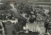 """10 Aube / CPSM FRANCE 10 """"Nogent sur Seine, vue aérienne"""""""