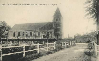 """/ CPA FRANCE 67 """"Saint Sauveur Emalleville, l'église"""""""