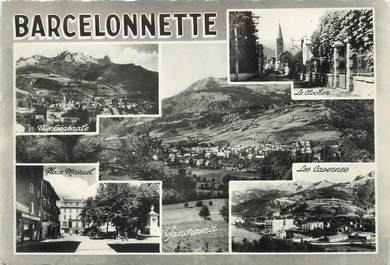 "/ CPSM FRANCE 04 ""Barcelonette, route des grandes Alpes"""