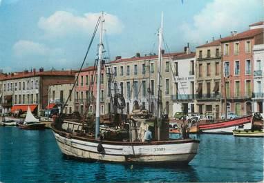 """CPSM FRANCE 34 """"Sète, les bateaux de pêche"""""""