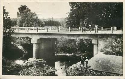 """/ CPSM FRANCE 71 """"Varennes Saint Sauveur, pont neuf du Montjouvent"""""""