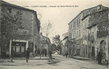 """CPA FRANCE 11 """"Fleury d'Aude, avenue de Saint Pierre la Mer"""""""