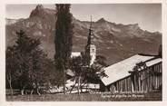 """74 Haute Savoie / CPSM FRANCE 74 """"Combloux, église et aiguille de Warens"""""""