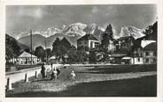 """74 Haute Savoie / CPSM FRANCE 74 """"Sallanches, château des Loches et le mont Blanc"""""""