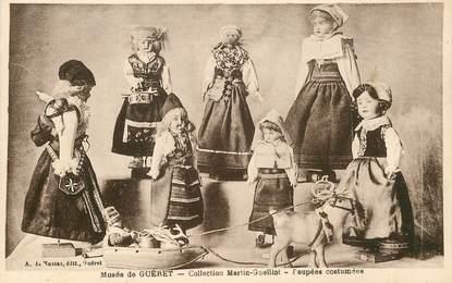 """CPA FRANCE 23 """"Musée de Guéret, poupées costumées"""""""