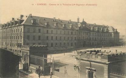 """CPA FRANCE 87 """"Limoges, caserne de la Visitation"""""""