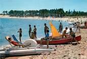 """17 Charente Maritime / CPSM FRANCE 17 """"Ile d'Oléron, Boyardville, la plage"""""""
