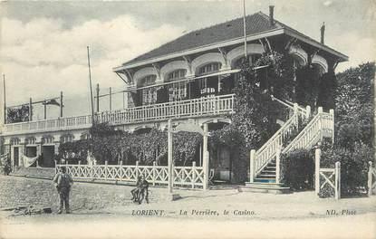 """/ CPA FRANCE 56 """"Lorient, la Perrière, le casino"""""""