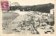 """17 Charente Maritime CPA FRANCE 76 """"Fouras les bains, vue panoramique de la plage"""""""