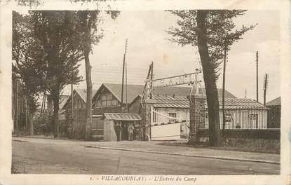 """/ CPA FRANCE 78 """"Villacoublay, l'entrée du camp"""""""