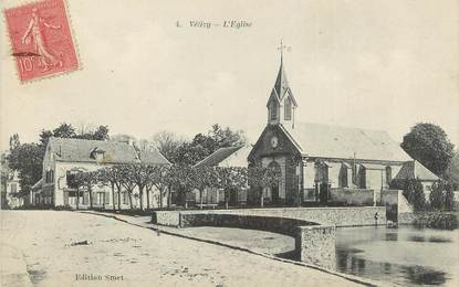 "/ CPA FRANCE 78 ""Velizy, l'église"""