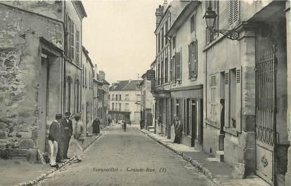 "/ CPA FRANCE 78 ""Vernouillet, grande rue"""