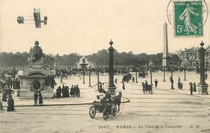 "CPA FRANCE 75001 ""Paris, la place de la Concorde"""