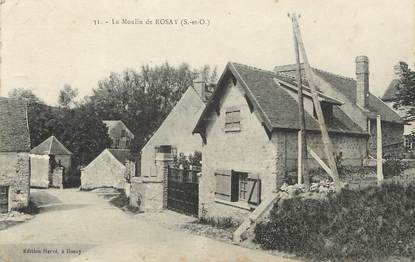 """/ CPA FRANCE 78 """"Rosay"""" / MOULIN"""