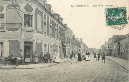 "/ CPA FRANCE 78 ""Rambouillet, rue de la Garenne"""