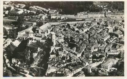 """/ CPSM FRANCE 09 """"Foix, vue générale et le château"""""""