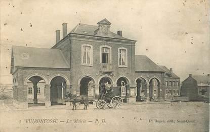 "CPA FRANCE 02 ""Buironfosse, la Mairie"""
