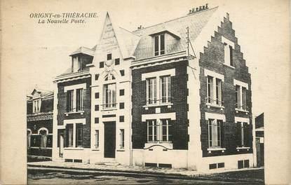 """CPA FRANCE 02 """"Origny en Thiérache, la nouvelle poste"""""""