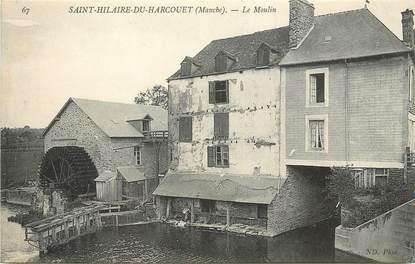"""/ CPA FRANCE 50 """"Saint Hilaire Du Harcouet"""" / MOULIN"""