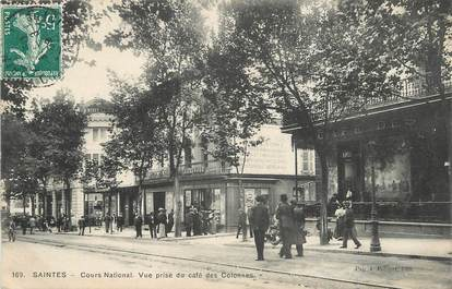 """/ CPA FRANCE 17 """"Saintes, cours National"""""""