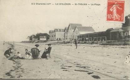 """/ CPA FRANCE 17 """"Ile d'Oléron, Saint Trojan, la plage"""""""