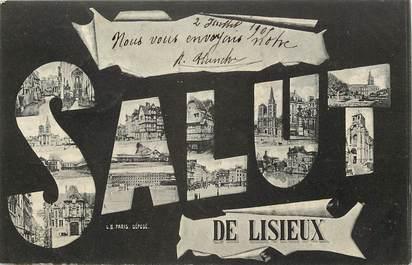 """CPA FRANCE 14 """"Salut de Lisieux"""""""