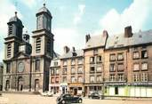 """08 Ardenne / CPSM FRANCE 08 """"Sedan, l'église Saint Charles, place d'Armes"""""""