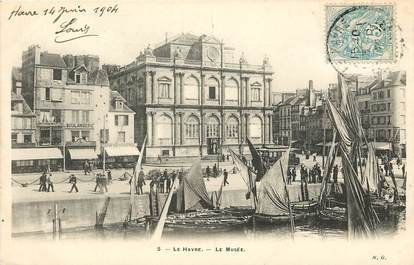 "CPA FRANCE 76 ""Le Havre, Musée"""