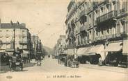 "76 Seine Maritime CPA FRANCE 76 ""Le Havre, rue Thiers"""