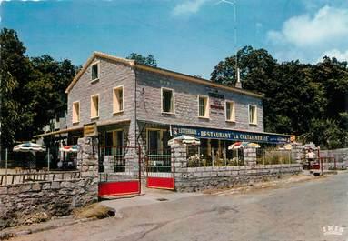 """/ CPSM FRANCE 20 """"Evisa, hôtel restaurant La Chataigneraie"""""""