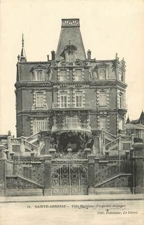 "CPA FRANCE 76 ""Le Havre Sainte Adresse"""