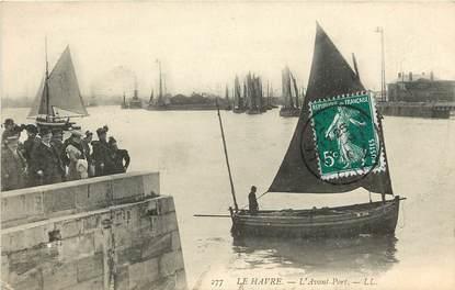 "CPA FRANCE 76 ""Le Havre, l'avant port, Ed. L.L."""