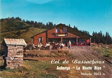 """/ CPSM FRANCE 74 """"Châtel, Col de Bassachaux"""""""