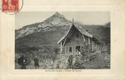 "CPA FRANCE 11 ""Quillan, Chalet de Carach"""