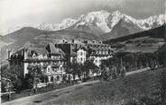 """74 Haute Savoie / CPSM FRANCE 74 """"Combloux, l""""hôtel S.N.C.F et le Mont Blanc"""""""