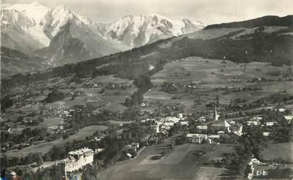 """/ CPSM FRANCE 74 """"Combloux, et le Mont Blanc"""""""