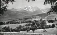 """74 Haute Savoie / CPSM FRANCE 74 """"Combloux, et le massif du Mont Blanc"""""""