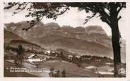 """74 Haute Savoie / CPSM FRANCE 74 """"Combloux, vue générale et chaine des Aravis"""""""
