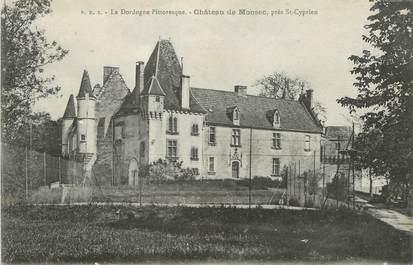 """/ CPA FRANCE 24 """"Château de Monsec, près Saint Cyprien"""""""