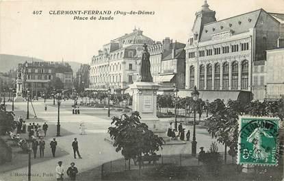 """CPA FRANCE 63 """"Clermont Ferrand, Place de Jaude"""""""