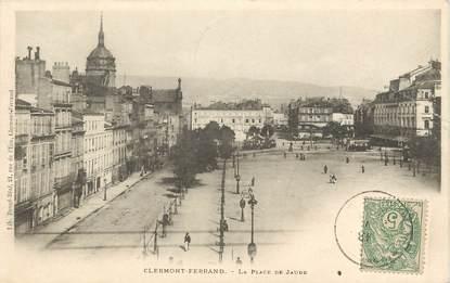 """CPA FRANCE 63 """"Clermont Ferrand, La Place de Jaude"""""""