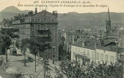 """CPA FRANCE 63 """"Clermont Ferrand, La rue Andrée Monnier"""""""