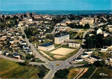 """/ CPSM FRANCE 19 """"Egletons, vue générale aérienne """""""